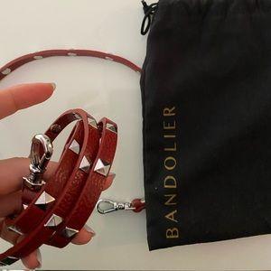 Red Bandolier strap